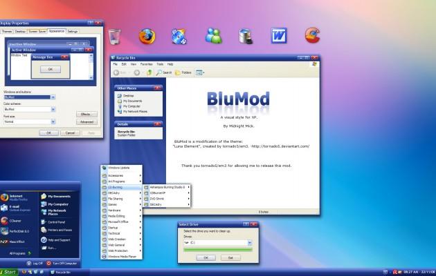 BluMod XP Theme