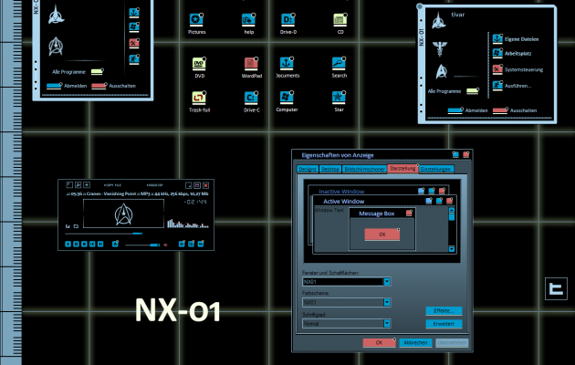 NX-01 Theme For XP