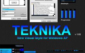 TEKNIKA XP Theme