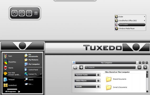 Tuxedo XP Theme