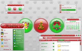 White Christmas XP Theme