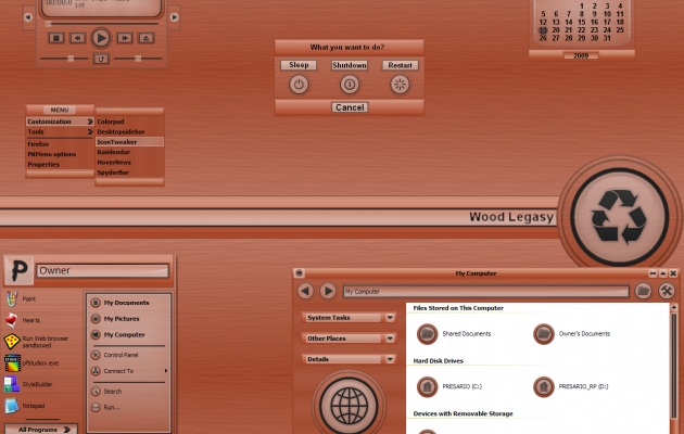 Wood Legasy XP Theme
