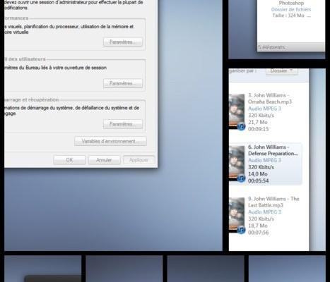 Adagio theme – Windows 7