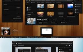 Dark Soft Windows 7 Theme