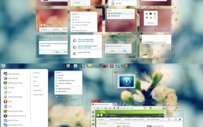 Luna Desktop Themes for 7