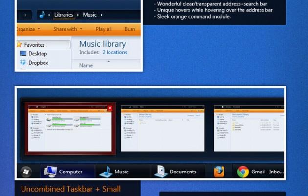 Osituro Windows 7 Desktop Themes