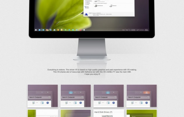 Shine Theme for Windows 7