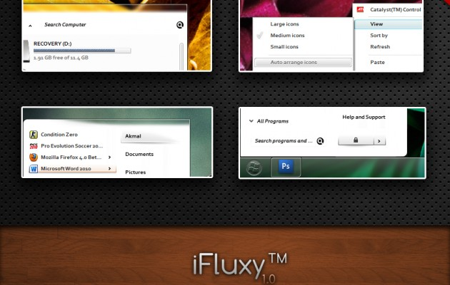 iFluxy for Windows 7